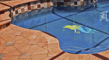 Pool Deck Resurfacing Mesmerizing Pool Deck Resurfacing Las Vegastop Rated Pool Deck Repair Company