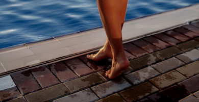 Pavers Are Foot Friendly